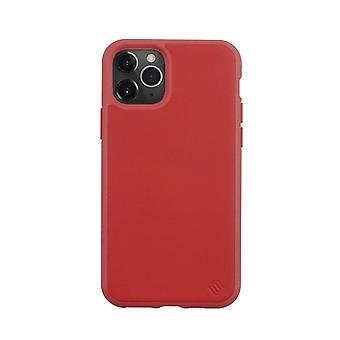 Eco Leather iPhone 11 Pro Case Biodegradable Back Shell- Red Tomato