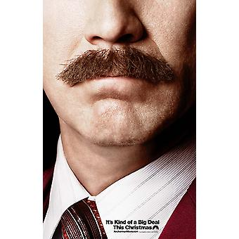 Anchor Man 2 Poster Double Sided Advance (2013) Original Cinema Poster