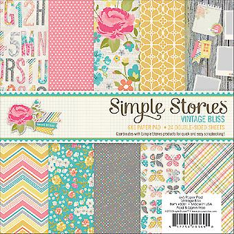 Vintage Bliss Paper Pad 6