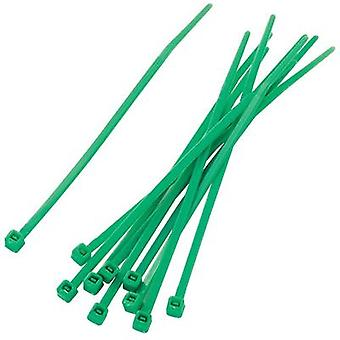 Cable tie set 100 mm Green KSS 542309 PBR-100-4GN 100 pc(s)