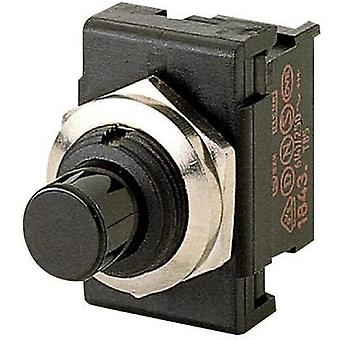 Pushbutton switch 250 Vac 6 A 1 x Off/On Marquardt 1841.1101 IP40 latch 1 pc(s)