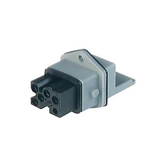 Mains connector Socket, vertical vertical Total number of pins: 5 + PE 16 A Grey Hirschmann STAKEI 5 1 pc(s)