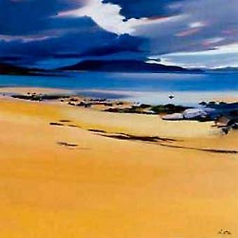Pam Carter stampa - Niabost Sands, Harris