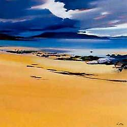 Pam Carter impression - Niabost Sands, Harris