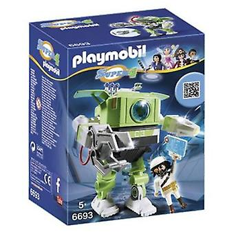 Playmobil 6693 Cleano Robot (Toys , Dolls And Accesories , Miniature Toys , Mini Figures)