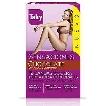 Taky Tweezer bands Sensations Chocolate (Woman , Esthetics , Hair removal , Waxes)