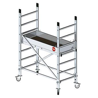 Hailo Mobile Scaffold - Aluminum - Multi (Working Height 3 M)