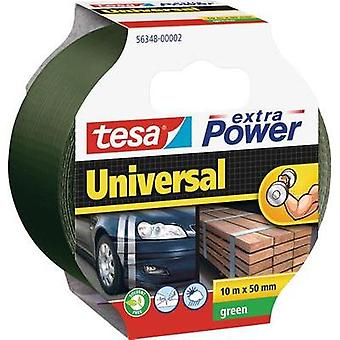 Cloth tape tesa tesa® Extra Power Green (L x W) 10 m x 50 mm