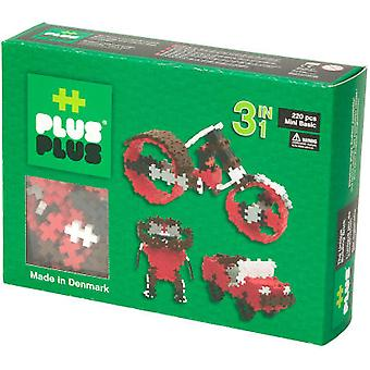 Plus Plus Mini Basic Parts 220, 3-In-1 (Toys , Constructions , Bricks And Pieces)