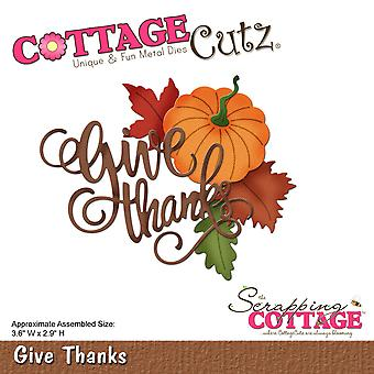 CottageCutz sterven-Give Thanks, 3.6