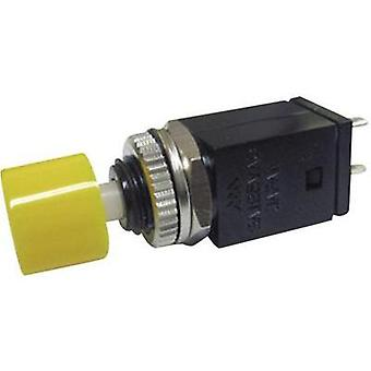 Pushbutton 125 Vac 3 A 1 x Off/(On) Miyama DS-410, YE momentary 1 pc(s)