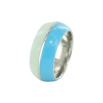 ESPRIT women's ring stainless steel Marin 68 mix turquoise ESRG11563E