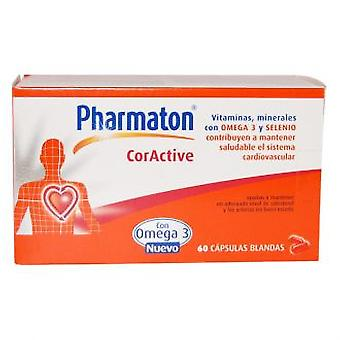 Pharmaton Pharmaton Coractive 60 Capsules (Vitamins & supplements , Multinutrients)