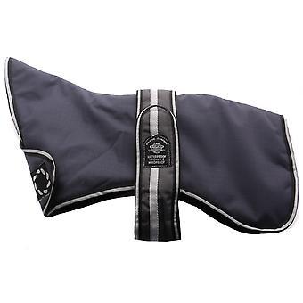 Outhwaites Greyhound Waterproof Polyester Padded Coat Grey 76cm (30