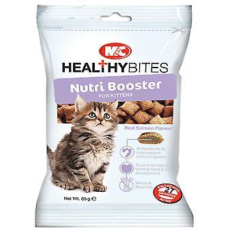 M & c sund bid killing Nutribooster behandler 65g (pakke med 6)