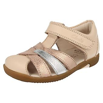 Girls Clarks Closed Toe Sandals Softly Mae