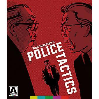 Slag uden ære & menneskeheden: Politiets taktik [Blu-ray] USA importerer