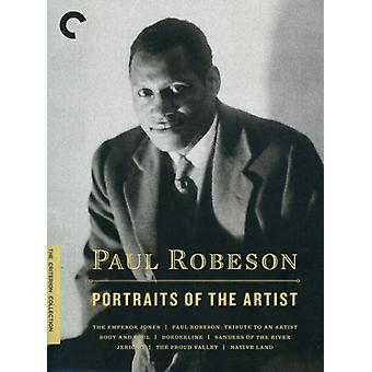 Paul Robeson: Portraits of [DVD] USA import