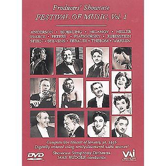 Festival for musik-Vol. 1 [DVD] USA import