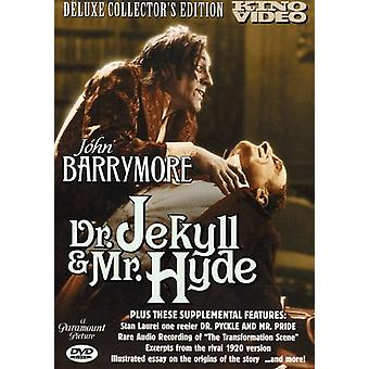 Dr Jekyll & Mr Hyde (1920) [DVD] USA import
