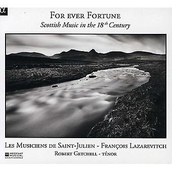 Les Musiciens De Saint-Julien - nogensinde formue: skotsk musik i 1700-tallet [CD] USA importerer
