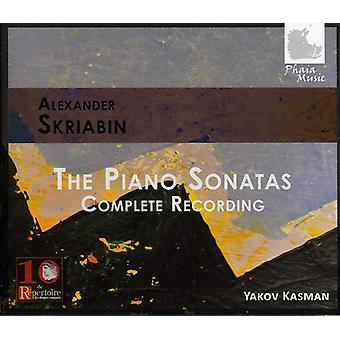 A. Skriabin - Skrjabin: The Piano sonater [CD] USA import