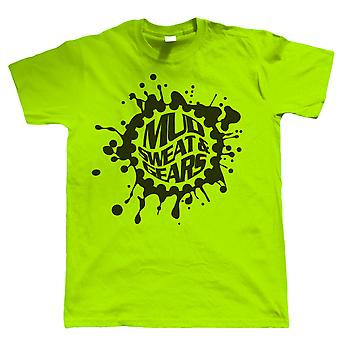 Mud svett och Gears mountainbike, herr T-Shirt