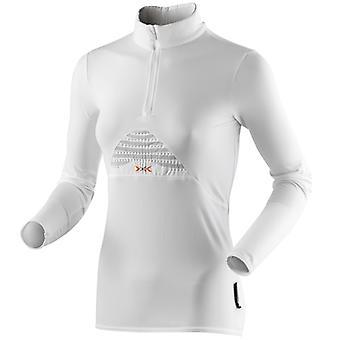 X-BIONIC Women Running Humdinger Long Sleeve Zip-Up Laufshirt - O020353-106