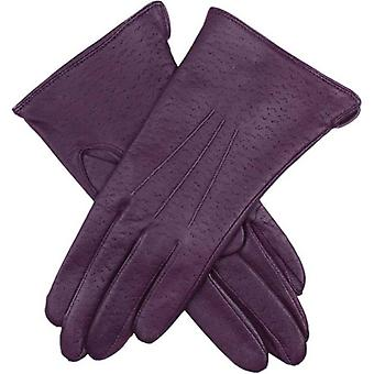 Dents Jessica Classic Imipec Leather Gloves - Amethyst