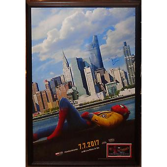 Spider-Man Homecoming - ondertekend filmposter