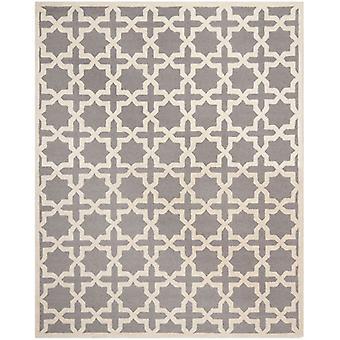 Marina sølv grå espalier tæppe - Safavieh