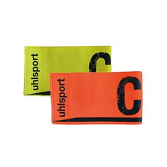 Uhlsport game guide arm binding (fl.gelb, shockred)