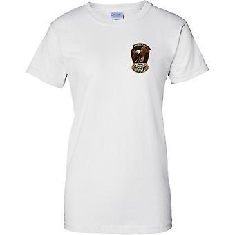 NASA Apollo 11 35th Anniversary - Ladies Chest Design T-Shirt