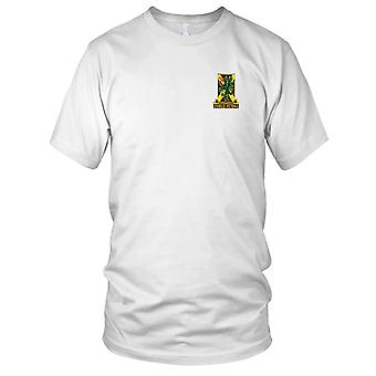 US Army - 103rd Chemical Battalion Embroidered Patch - Mens T Shirt