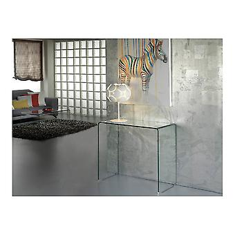 Schuller Glass Clear Console Table