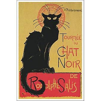 Tournee du Chat Noir affiche Print par Théophile-Alexandre Steinlen (24 x 36)