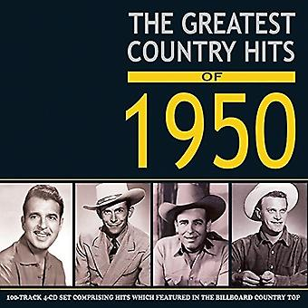 Various Artist - Greatest Country Hits of 1950 [CD] USA import