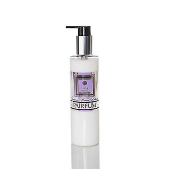 Organic Hand Lotion ( Prebiotic is Best ) - Unisex - by Pairfum - Perfume: Linen & Lavender - 250ml - Improves the Health of Your Skin - Rich in Organic / Natural Essential Oils - Ideal for dry or sensitive skin - Gently massage radiance an