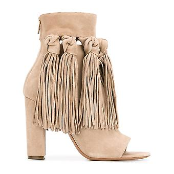 Chloé ladies CH28090E18SWEETBEIGE beige Suede Ankle Boots