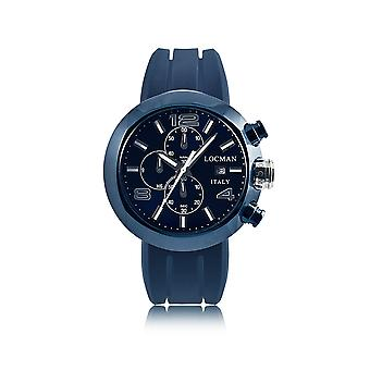 Locman men 0420BLBNNK0SIBWSB Blue Watch