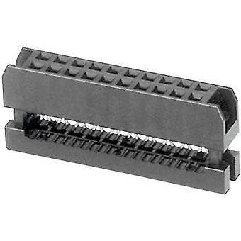 W & P Products 343-20-60-1 Pole Connector Number of pins: 2 x 10
