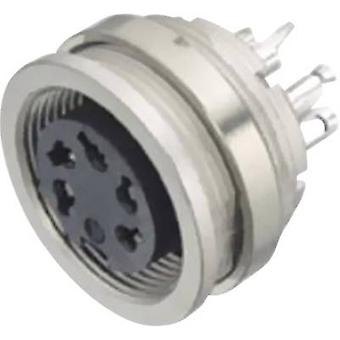 Binder 09-0320-00-05 Miniature Round Plug Connector Series 581 And 680 Nominal current (details): 5 A Number of pins: 5