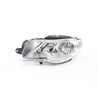 Right Headlamp (Electric With Motor) for Volkswagen PASSAT CC 2008 on