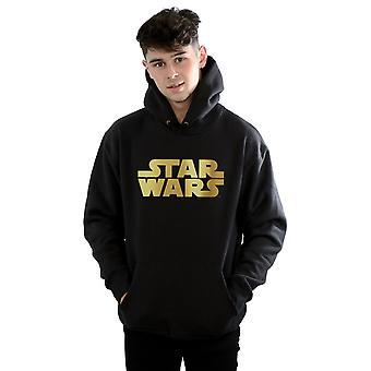 Star Wars Men's Gold Logo Hoodie