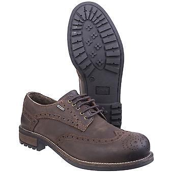 Cotswold Mens Oxford Waterproof Breathable Leather Smart Brogue Shoes