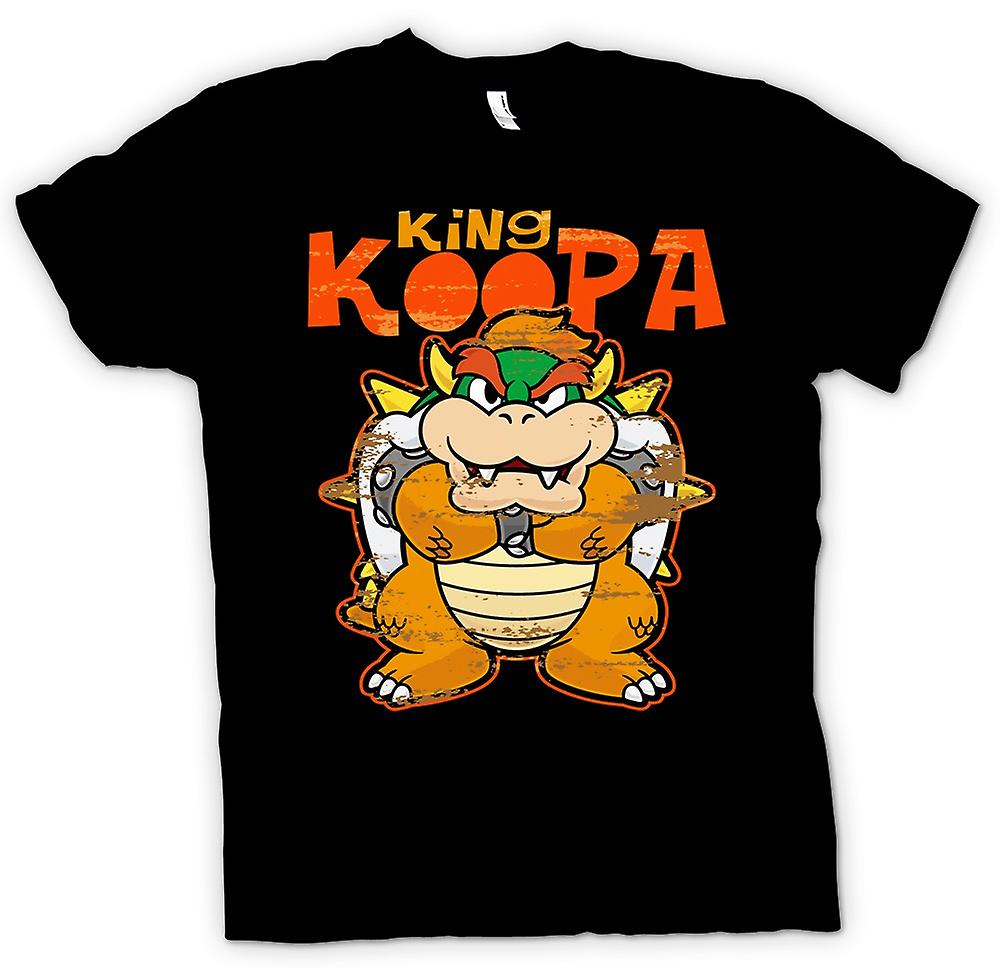 Womens T-shirt - kung Koopa - Super Mario