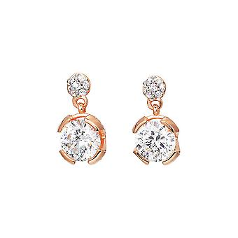 ESPRIT collection ladies earrings silver Rosé Solaris ELER92568C000