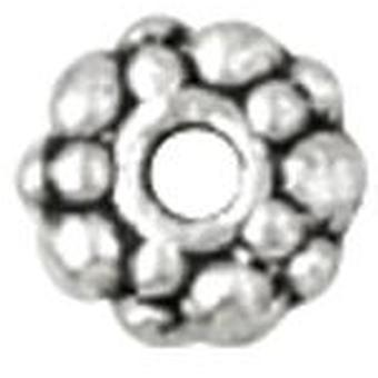 Blue Moon Value Pack Metal Spacer Beads-Silver Rondelles 24/Pkg