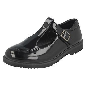 Meisjes Cool voor School T-Bar gesp School schoenen H2433