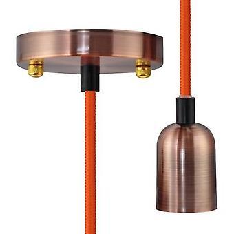 Pendant light LED E27 Segula Pendelleuchte Miami Rose-Kupfer 50568 Rose, Copper